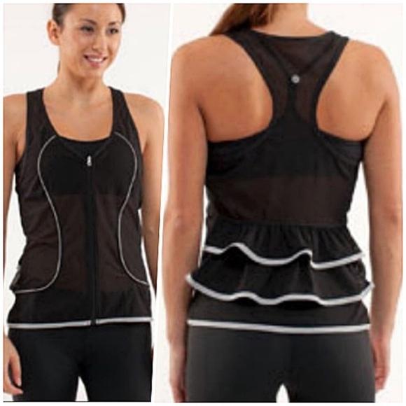 Lululemon Shine Your Heart Out Vest Black